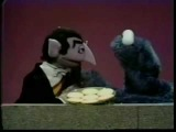 The Count meets Cookie Monster - Classic Sesame Street