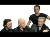 X-Men: Days of Future Past Cast interview - Comic-Con 2013