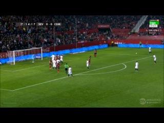 Севилья - Мирандес 2-0 (21 января 2016 г, 1/4 финала Кубка Испании)