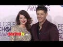 Jensen Ackles and Pregnant Daneel Harris People's Choice Awards 2013 Red Carpet Arrivals