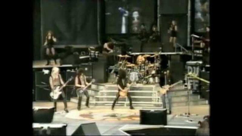 Guns N' Roses - Always On The Run (w/ Lenny Kravitz) - Live In Paris 92 - 3/18