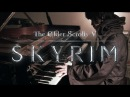 TES V: Skyrim - Dragonborn, Main Theme - Virtuosic Piano Solo   Leiki Ueda