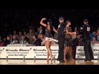 Estonia Open 2012 - Youth Latin - Final Chacha - Vladislav Kolesnikov & Anna Isakovich