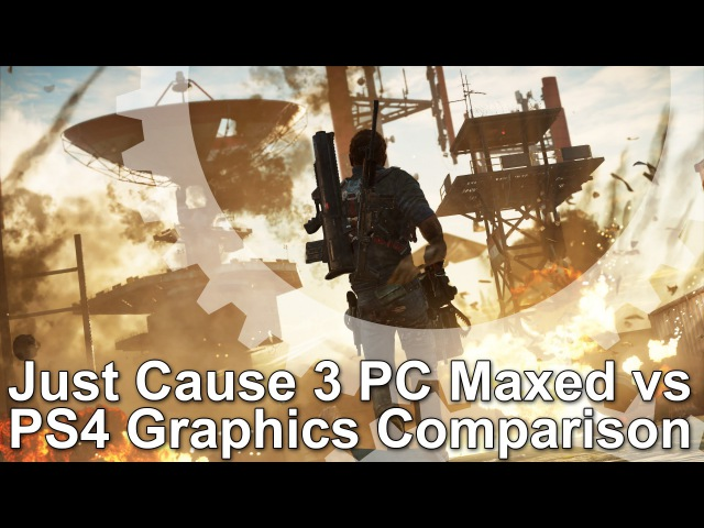 Just Cause 3 PC 'Very High' vs PS4 Graphics Comparison
