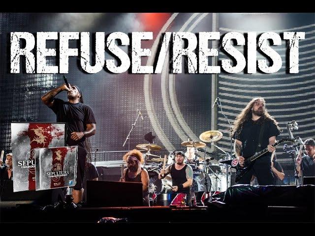 Sepultura Refuse Resist Metal Veins Alive at Rock in Rio feat Les Tambours du Bronx