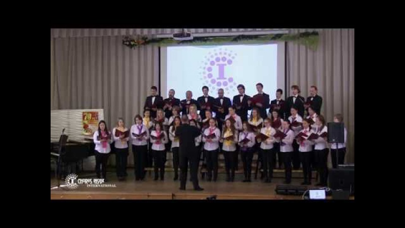 Choir of Musical Education Department of MSIC Festival CHORUS INSIDE Russia 2015