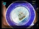 Декупаж часов и тарелки Используем переводные декупажные карты Мастер класс Наташа Фохтина