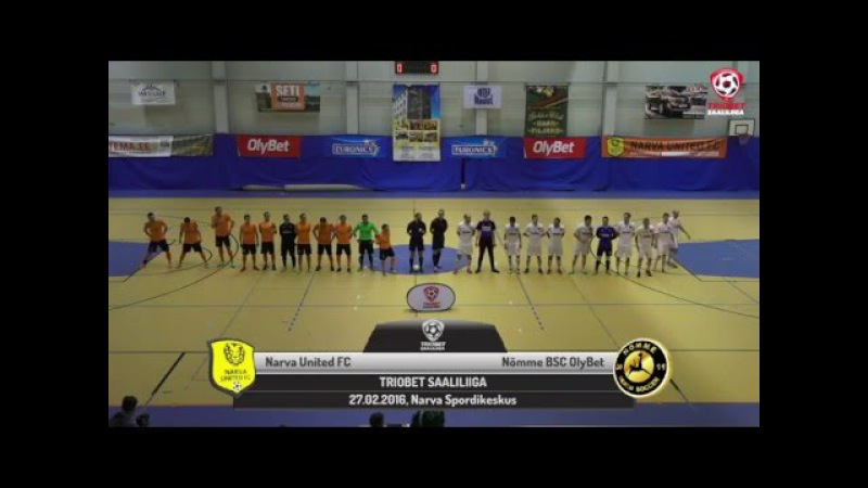 Futsal: Narva vs Nõmme TSL esimene poolfinaal, 27.02.2016