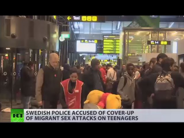 Swedish police 'migrant sex attacks coverup' exposed