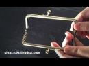 Фермуар пришивная застёжка рамка для кошельков ридикюлей сумочек косметичек Различные формы и размеры фермуаров позволяют создавать самые разнообразные модели кошельки вместительные сумки крохотные косметички очечники сумки ридикюли сумочки из