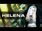 HelenaLive and Admiral Bulldog | Natures Prophet stream (LOL player in Dota 2) 22.11.2015