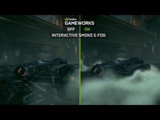 Новое видео Batman: Arkham Knight NVIDIA GameWorks Batmobile Video