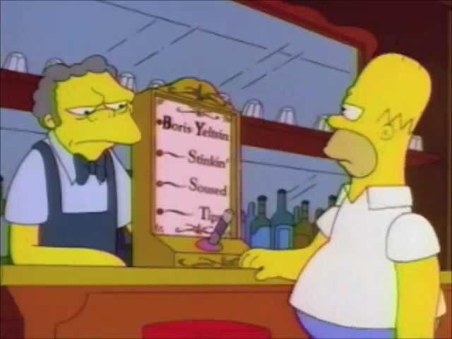 The Simpsons - Boris Yeltsin Breathalyzer Test » Freewka.com - Смотреть онлайн в хорощем качестве