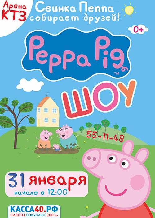 Афиша Калуга Свинка Пеппа / 31 января / Арена КТЗ