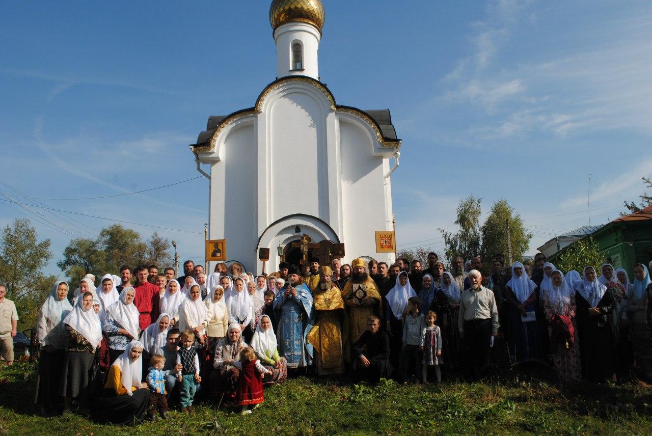 Крестный ход Верея–Боровск