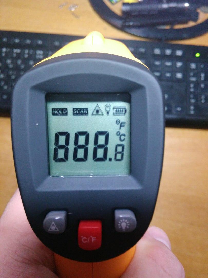 Обзор инфракрасного пирометра GM 300