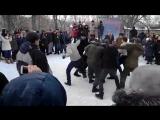 Кулачные бои в Пензе на Масленицу, ЦПКиО им. Белинского, 2015