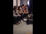 Встреча с актерами сериала