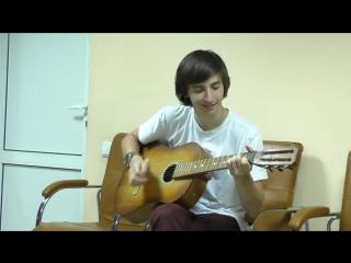 Широкино Айхан и Гриша  Песня))