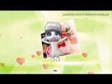 ZOOBE зайка С Днем Святого Валентина ! С Днём Влюблённых ! Валентинка ! (11)