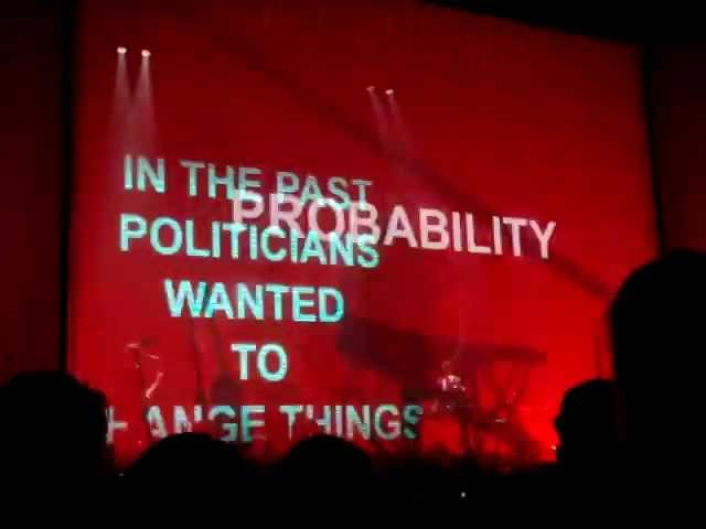 Massive Attack Everything is Going According to Plan @ Park Avenue Armory NYC Sep 30 2013