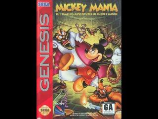 Mickey Mania: The Timeless Adventures of Mickey Mouse Прохождение (Sega Rus)