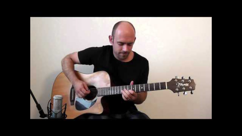 Nothing Else Matters (Metallica) - Acoustic Guitar Solo Cover Fingerstyle
