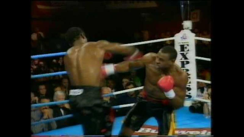 Lennox Lewis vs Oliver McCall 1994 WBC title