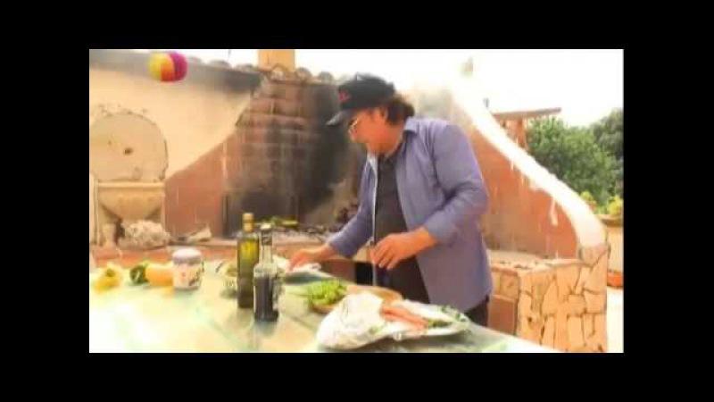 Рецепт - Итальянские уроки от Аль Бано  часть 3 - Видео - Едим дома