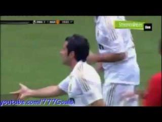 Real Madrid vs Manchester United 2-1 Goal Luis Figo
