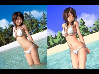 Top 25 Anime VS Real girls picture