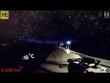 Зимний зацепинг на сапсане СПБ-Чудово / High-speed trainsurfing 200 km/h in Russia