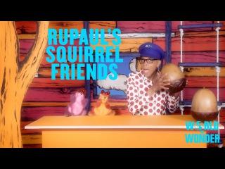 RuPaul's Squirrel Friends - iPhone Secrets