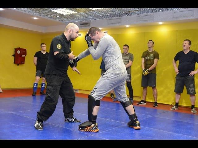 Отвлечение и удар. Простые комбинации рукопашного боя S.P.A.S. (street fighting S.P.A.S.)
