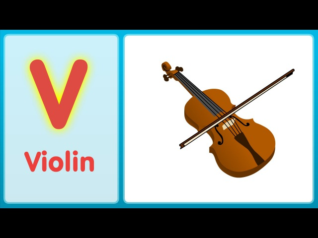 The V Song (Uppercase) | Alphabet Song | Super Simple ABCs