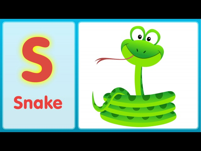 The S Song (Uppercase) | Super Simple ABCs