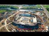 Бетонный завод МЕКА на строительстве стадиона Мордовия-Арена