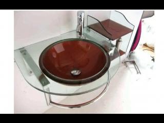 стеклянная раковина в ванную комнату фото цена 15357