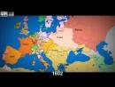 Как менялись границы в Европе за последние 1000 лет