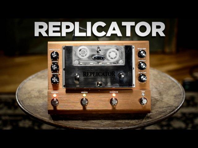 T-Rex Replicator Analog Tape Echo Pedal | CME Gear Demo
