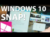 How to use Snap Assist on Windows 10