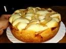 Пышная шарлотка с яблоками в мультиварке Рецепт Выпечка