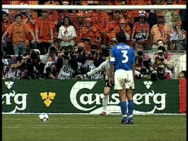Nederland-Italië penalties Euro 2000