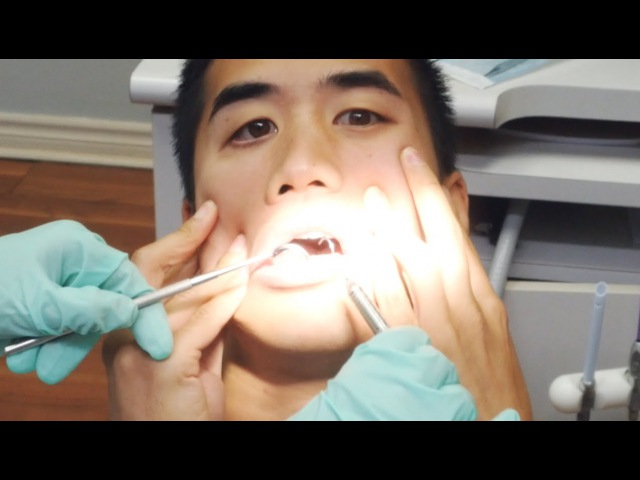 Can't Feel My Face - played with dentist equipment. (Andrew Huang cover)