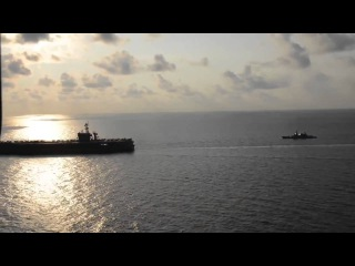 Carl Vinson Carrier Strike Group with Malaysian Royal Navy