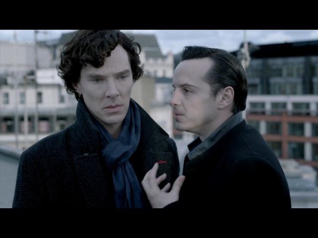 Возбуждает, согласись (Шерлок и Мориарти)