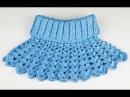 Манишка Ажурная крючком - 1 часть - crochet lace dickey