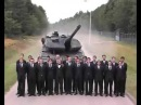 Экстренное торможение Танка Leopard 6 sec