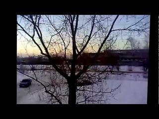 Астероид Челябинск - взрывная волна! Asteroid Chelyabinsk Russia!