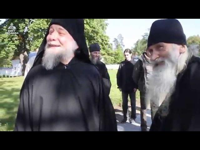 Старец Илий (Ноздрин)/Схиигумен Серафим (Покровский), Скит Всех Святых (Валаам)